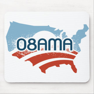 Obama: 08AMA Mouse Pad