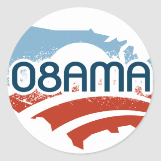 Obama 08AMA Sticker
