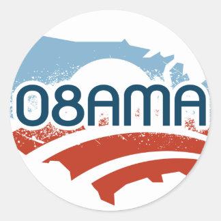 Obama 08AMA Sticker