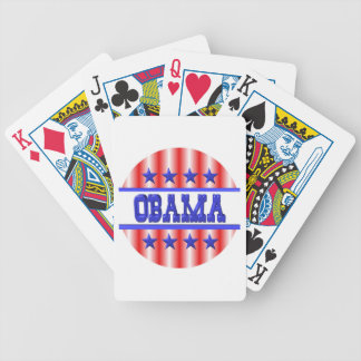 Obama 1012 by Valxart com Playing Cards