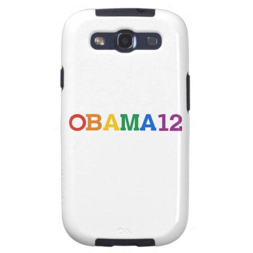 Obama 12 Rainbow Samsung Galaxy S3 Covers