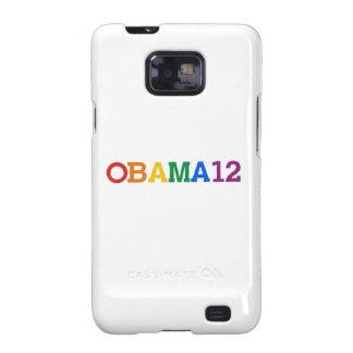 Obama 12 Rainbow Samsung Galaxy Cases