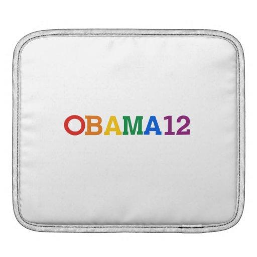 Obama 12 Rainbow iPad Sleeves