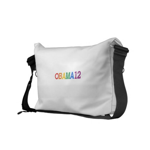 Obama 12 Rainbow Commuter Bag