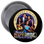 OBAMA-1ST FAMILY-Round Button