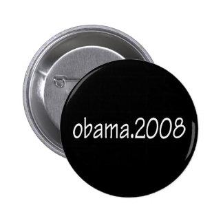 Obama.2008 Dark Button