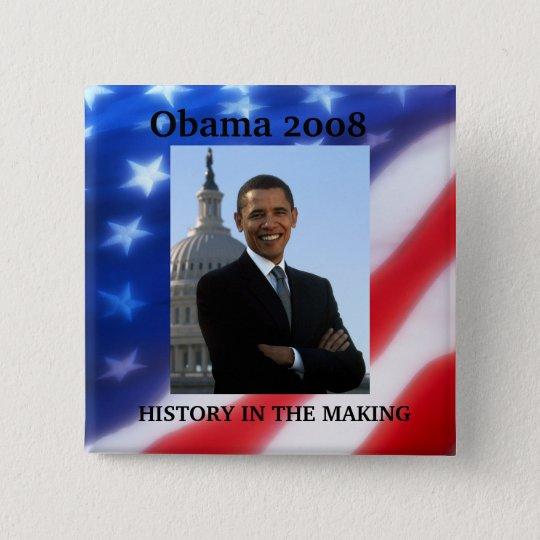 OBAMA -  2008 Election Button