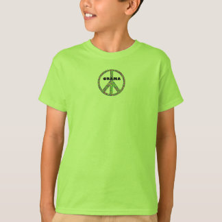 Obama 2008 Peace Confetti - Kids T-Shirt