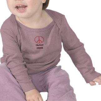 Obama 2008 Peace - Customized - Customized Tee Shirts
