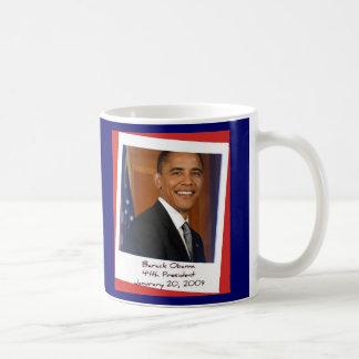 Obama 2009 Inaguration Souvenir Mug