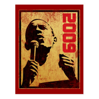 Obama 2009 post card