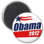 Obama 2012 6 cm round magnet