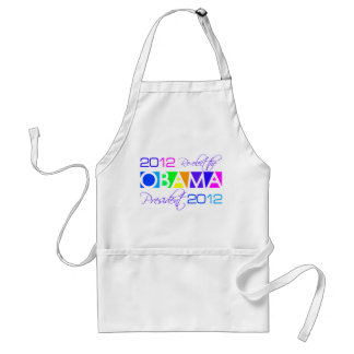 OBAMA 2012 apron - choose style & color