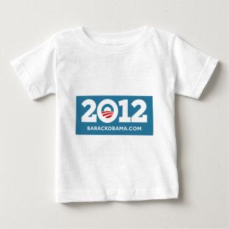 Obama 2012 baby T-Shirt