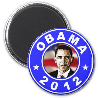 Obama 2012 - Blue 6 Cm Round Magnet