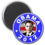 Obama 2012 - Blue Magnets