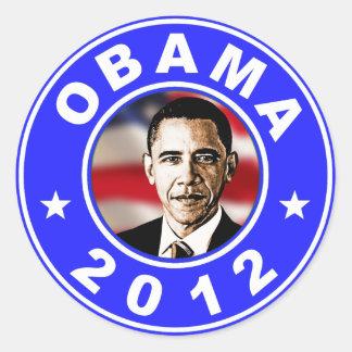 Obama 2012 - Blue Stickers