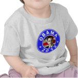 Obama 2012 - Blue T-shirts