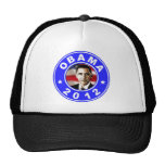 Obama 2012 - Blue Trucker Hats