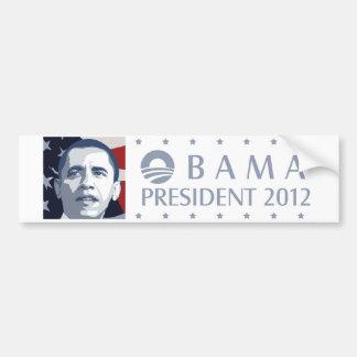 Obama 2012 bumper sticker