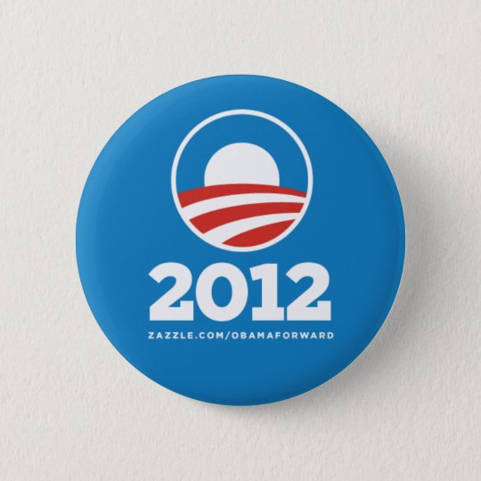 "Obama ""2012"" Button Pin"
