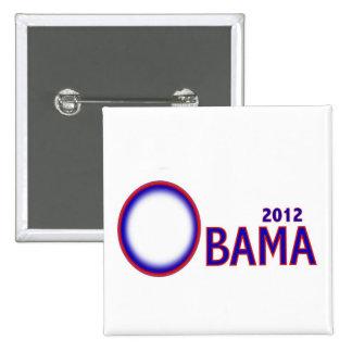Obama 2012 Campaign Pin Button