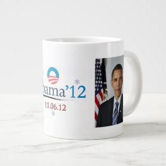 Obama 2012 Christmas Jumbo Mug