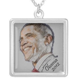 Obama  2012 Commemorative Necklace