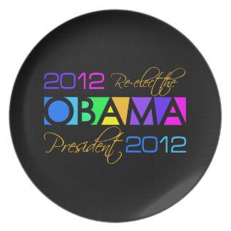OBAMA 2012 custom plate