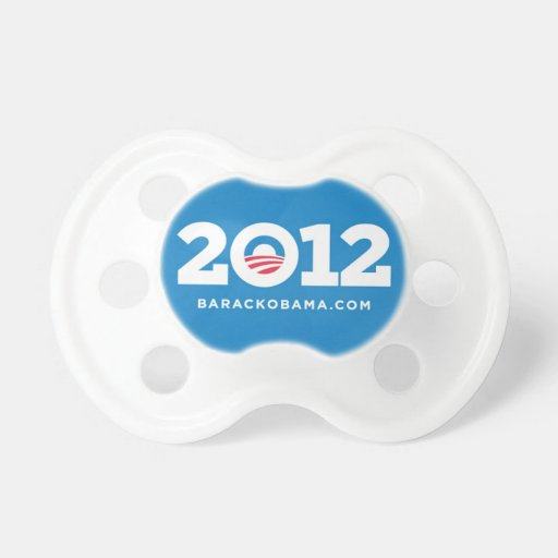 Obama 2012 pacifier