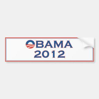 Obama 2012 Election Bumper Sticker
