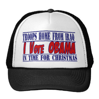 Obama 2012 Election support Trucker Hats