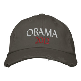 Obama 2012 embroidered cap