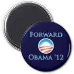 Obama 2012 - Forward 6 Cm Round Magnet