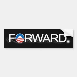 Obama 2012, Forward Black Bumper Sticker