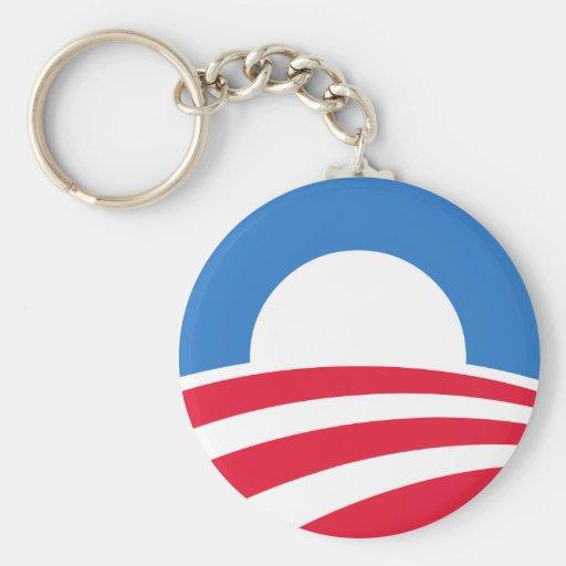 Obama 2012 Logo Keychain