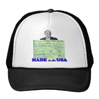 Obama 2012 Made in USA Cap