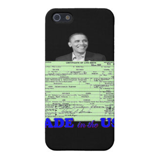 Obama 2012 Made in USA iPhone 5 Covers