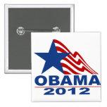 Obama 2012 Merchandise Button