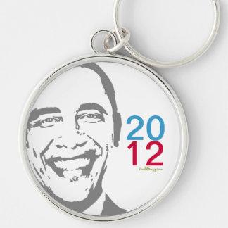 OBAMA 2012 Mod Keychain (Round)