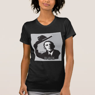 Obama 2012 Oakland Raiders, Black in the Saddle T-Shirt