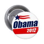 Obama 2012 pinback buttons