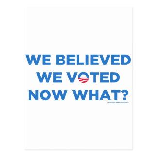 Obama 2012? postcard