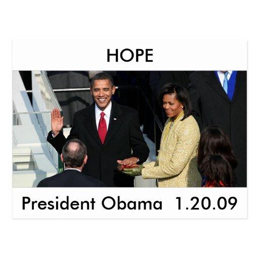 Obama 2012 post cards