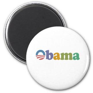 Obama 2012 Rainbow Fridge Magnets
