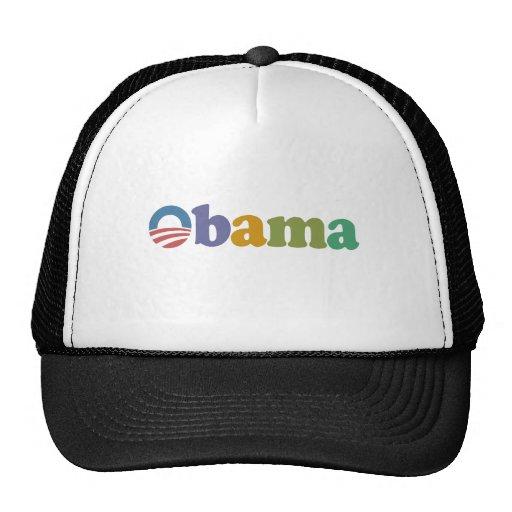 Obama 2012 Rainbow Trucker Hat