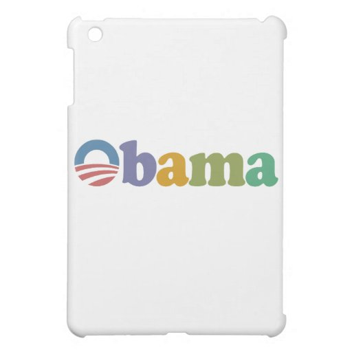Obama 2012 Rainbow iPad Mini Covers