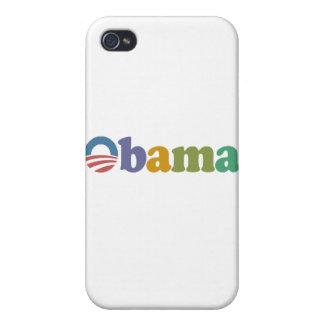 Obama 2012 Rainbow iPhone 4 Cover