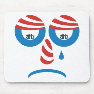 Obama 2012 Sad Face Mouse Pad