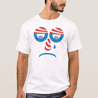 Obama 2012 Sad Face T-shirt
